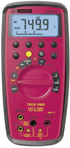 Multimeter Beha Amprobe 37XR-A-D CAT II 1000 V, CAT III 600 V Fabrieksstandaard (zonder certificaat)