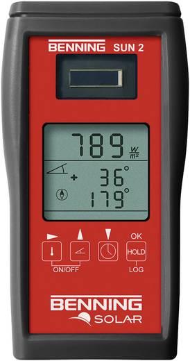 Benning Sun 2 instralings- en temperatuurmeter voor fotovoltaïsche systemen, meetinstrument voor zonne-energie, fotovolt