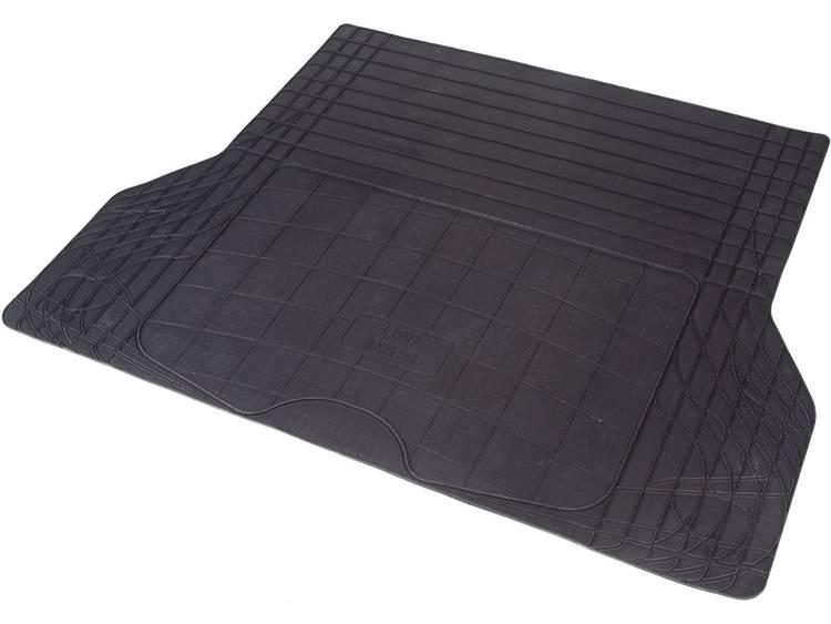 hpautozubehã¶r HP Autozubehör Universeel Kofferbakmat van natuurrubber (b x h) 140 cm x 108 cm Zwart