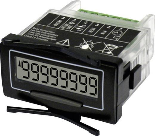 Trumeter Impulsteller met eigen voeding 7111HV Inbouwmaten 45 x 22.5 mm