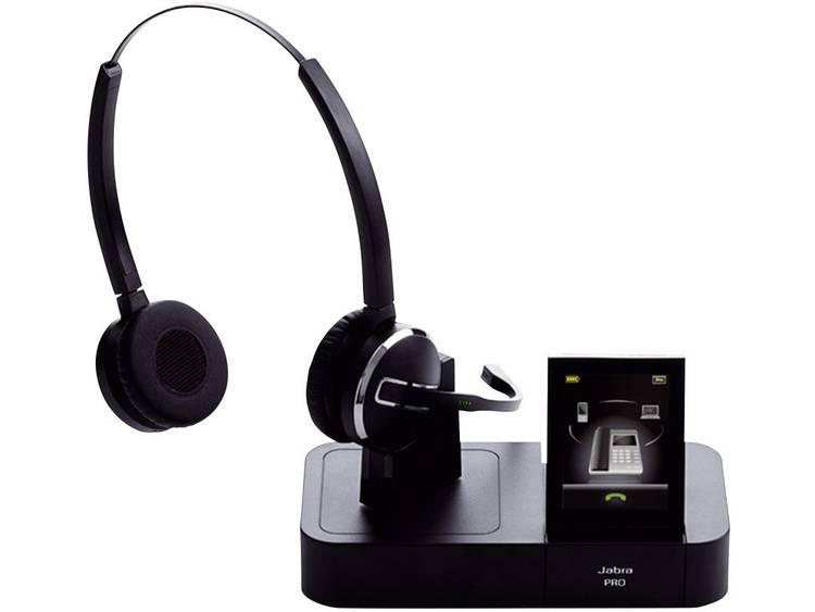 Jabra PRO⢠9460 DUO DECT Telefoonheadset Zwart