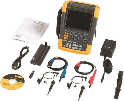 Fluke 190-062 Handoscilloscoop (scoopmeter) 60 MHz 2-kanaals 625 MSa/s 10 kpts 8 Bit Digitaal geheugen (DSO), Component
