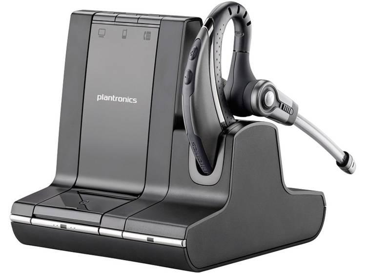 Plantronics Savi W730 DECT Telefoonheadset Zwart, Zilver