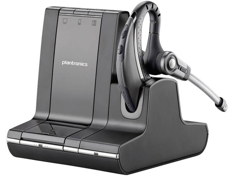 Plantronics Savi W730-M DECT Telefoonheadset Zwart, Zilver
