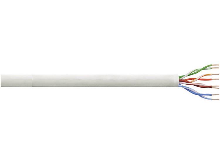 Netwerkkabel CAT 6 U/UTP LogiLink CPV0021 4 x 2 x 0.13 mm² Grijs 100 m