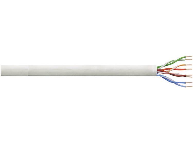 LogiLink CQ2100U Netwerkkabel CAT 6 U UTP 4 x 2 x 0.25 mm² Grijs 100 m