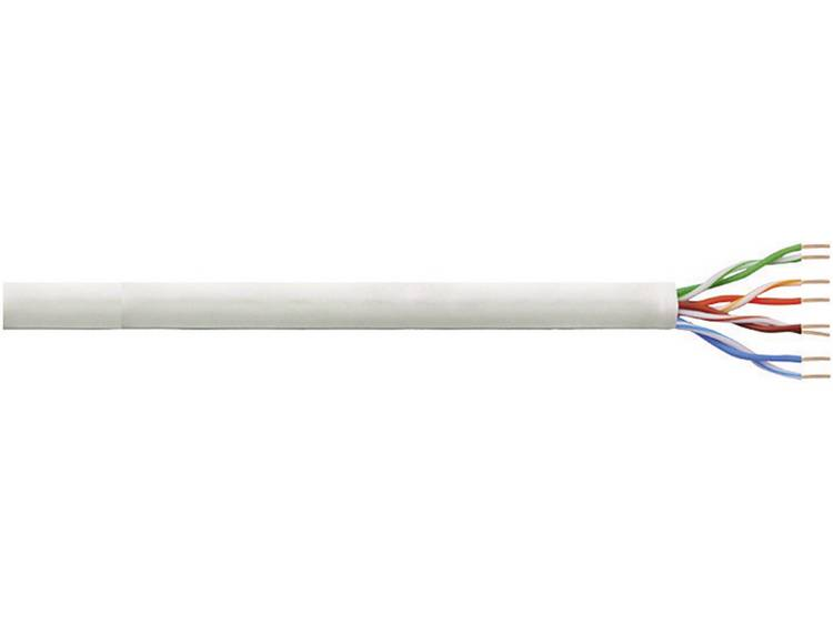 LogiLink CQ2305U Netwerkkabel CAT 6 U UTP 4 x 2 x 0.25 mm² Grijs 305 m