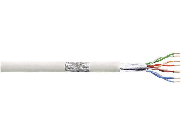 LogiLink CPV007 Netwerkkabel CAT 5e SF UTP 4 x 2 x 0.205 mm² Grijs 100 m