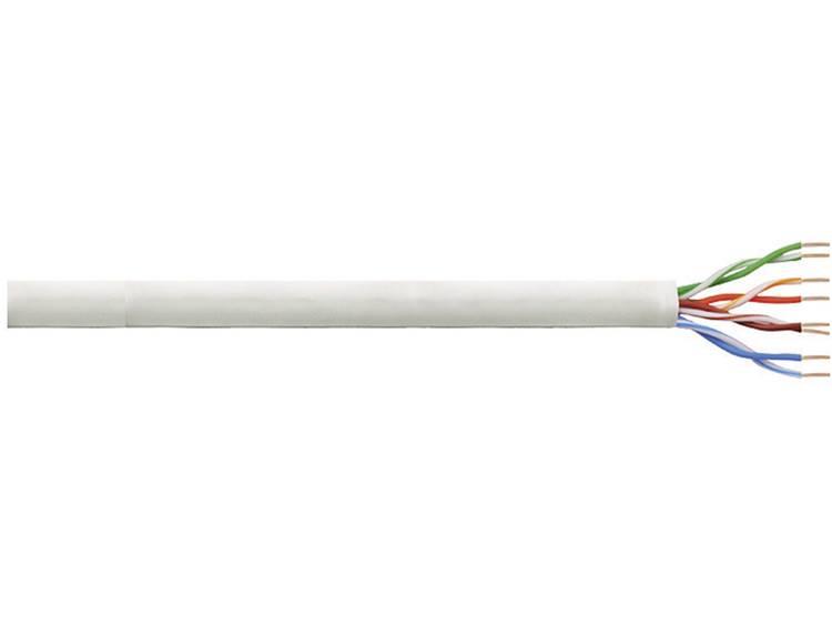 LogiLink CPV0036 Netwerkkabel CAT 6 U UTP 4 x 2 x 0.205 mm² Grijs 305 m