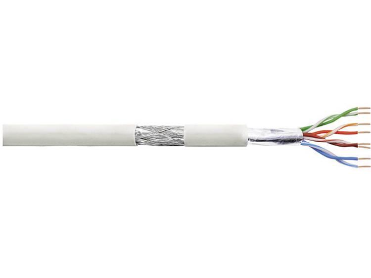 LogiLink CPV0018 Netwerkkabel CAT 5e SF UTP 4 x 2 x 0.13 mm² Grijs 305 m