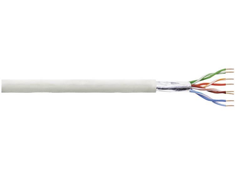LogiLink CPV0013 Netwerkkabel CAT 5e F UTP 4 x 2 x 0.13 mm² Grijs 100 m
