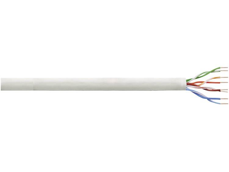 Netwerkkabel CAT 6 U/UTP LogiLink CPV0033 4 x 2 x 0.205 mm² Grijs 100 m