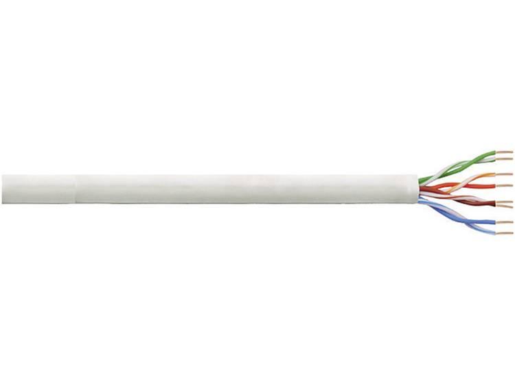 Netwerkkabel CAT 6 U/UTP LogiLink CPV0034 4 x 2 x 0.205 mm² Grijs 305 m