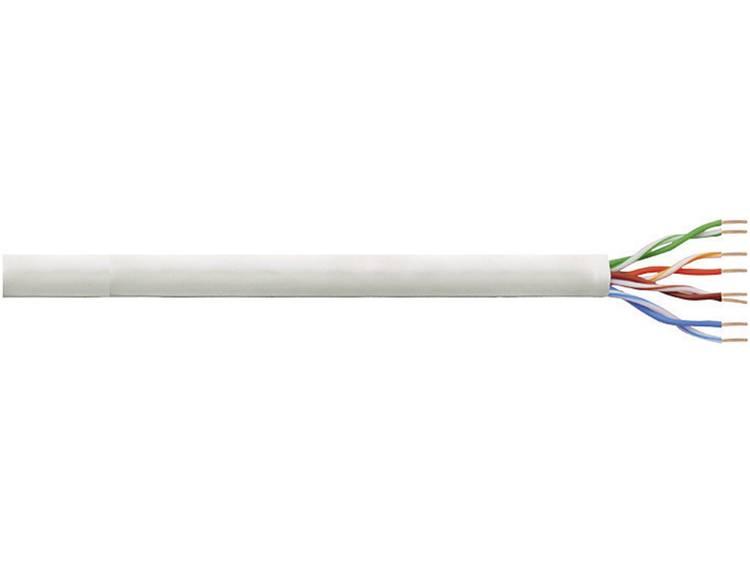 Netwerkkabel CAT 5e U/UTP LogiLink CPV0020 4 x 2 x 0.205 mm² Grijs 305 m