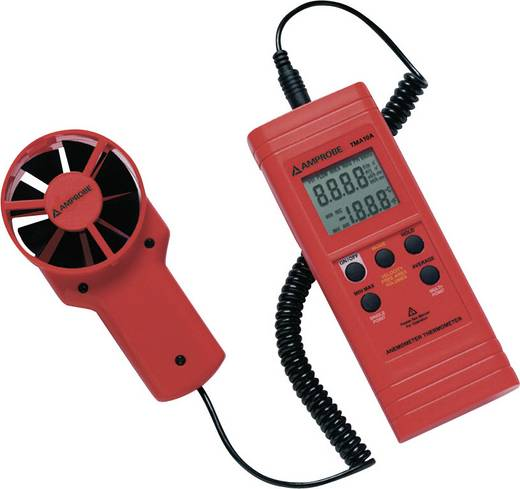 Windmeter Beha Amprobe TMA10A 0.4 tot 25 m/s Kalibratie Zonder certificaat