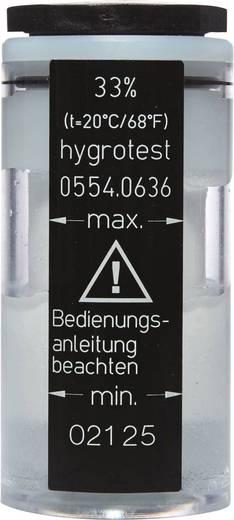 testo testo zoutpotje 0554 0636 Vochtigheid - normaal 33 % rF Geschikt voor Klimaatmeter Testo 445