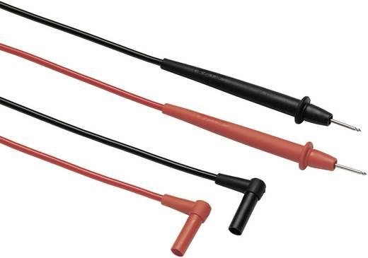 Fluke TL75-1 Veiligheidsmeetsnoerenset [ Banaanstekker 4 mm - Testpunt] 1.20 m Zwart, Rood