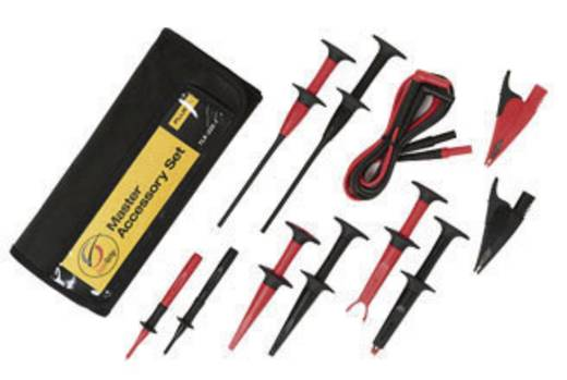 Fluke TL225-1 Veiligheidsmeetsnoerenset [ Banaanstekker 4 mm - Banaanstekker 4 mm] 1.50 m Zwart, Rood