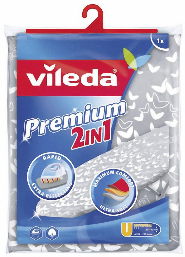 Strijkplankovertrek Vileda 140511 1 stuks Zilver-grijs