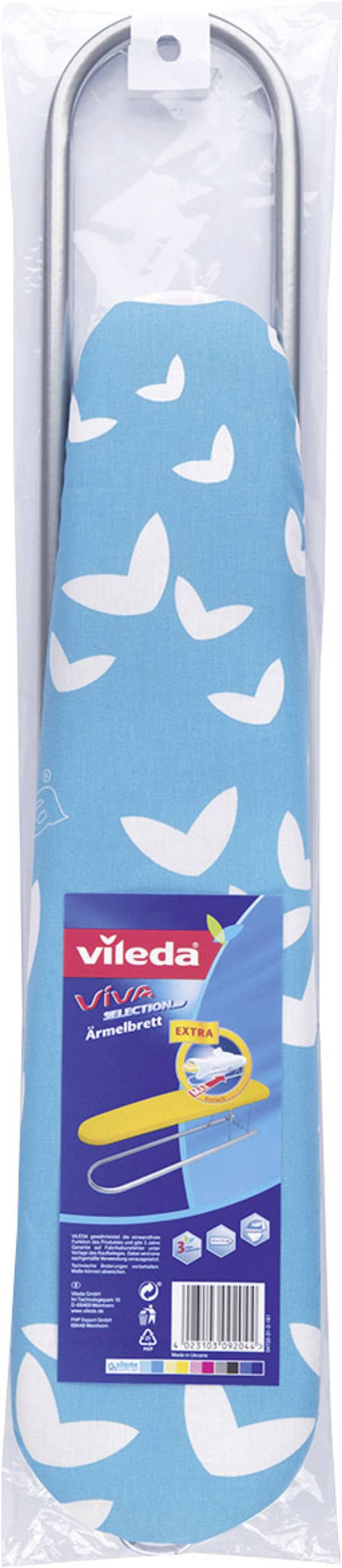 Mouwstrijkplank Vileda 110497 1 stuks Blauw