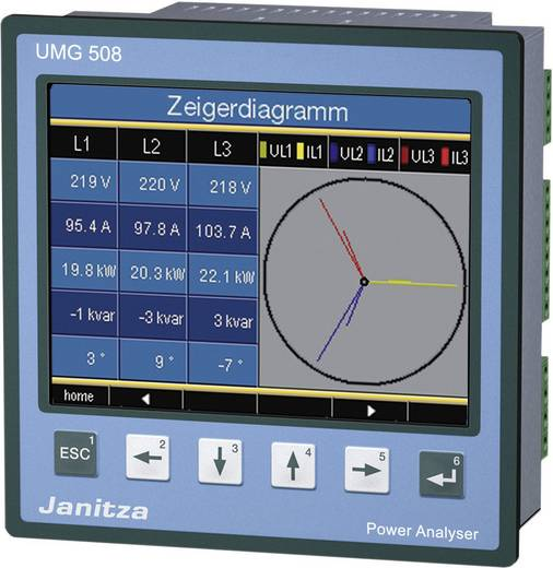 Janitza UMG 508 power analyzer 5221001