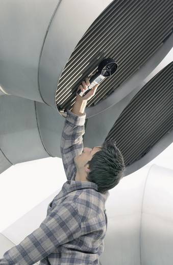 testo 417 Flügelrad-Anemometer Wind-anemometer +0.3 tot +20 m/s voor gecontroleerde woningventilatie (luchtaan- en afvoe