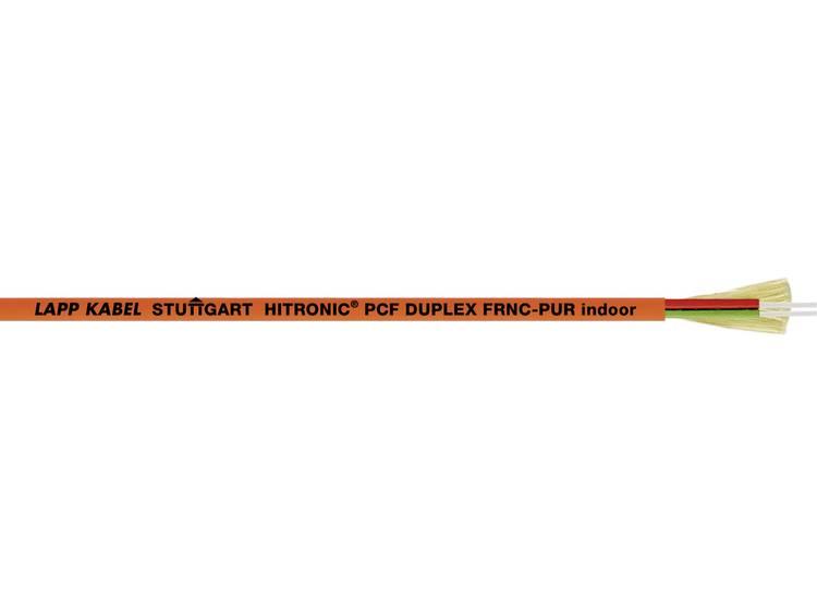 LAPP 28020702 Glasvezelkabel Hitronic PCF 200/230 µ Duplex Oranje 100 m