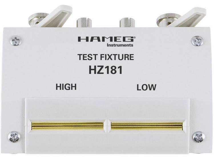 Rohde Schwarz HZ181 4 draads testadapter incl. kortsluitstekker Geschikt voor