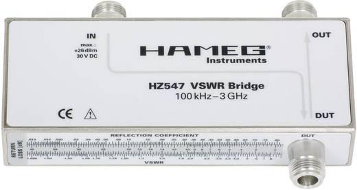 Rohde & Schwarz HZ547 3594.6424.02 VSWR meetbrug 3 GHz Geschikt voor (details) HMS1010, HMS3010