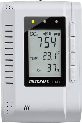 Kooldioxidemeter VOLTCRAFT CO-100 0 - 3000 ppm