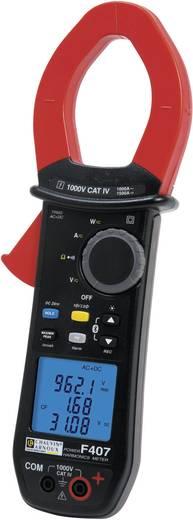 Chauvin Arnoux F407 Stroomtang, Multimeter Digitaal Kalibratie: Zonder certificaat CAT IV 1000 V Weergave (counts): 10000