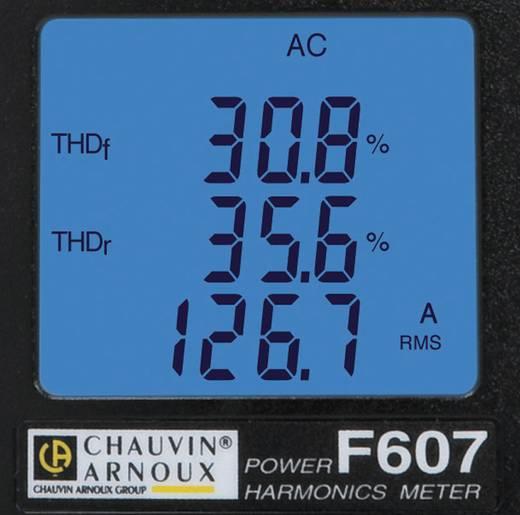 Chauvin Arnoux F607 Stroomtang Digitaal Kalibratie: Zonder certificaat CAT IV 1000 V Weergave (counts): 10000