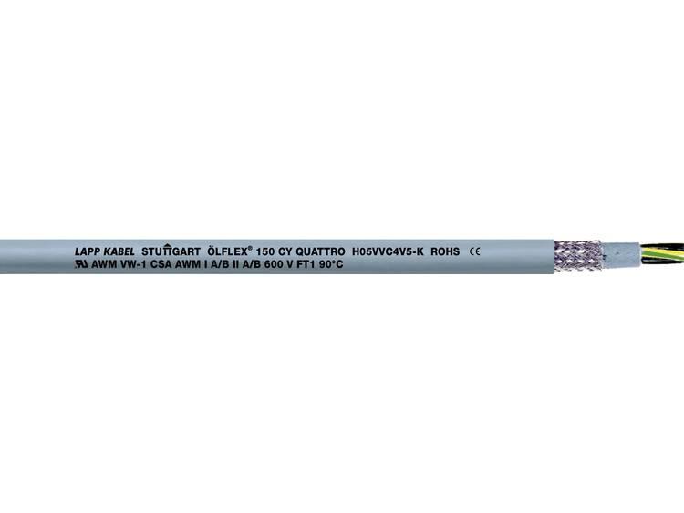 LappKabel 0015602 Stuurkabel Ã-LFLEX® 150 CY 2 x 0.75 mm² Grijs 600 m