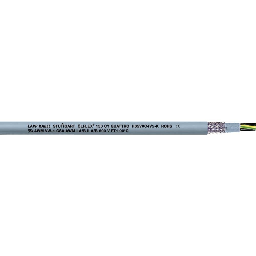 LAPP ÖLFLEX® 150 CY Stuurstroomkabel 3 G 1 mm² Grijs 15703-150 150 m