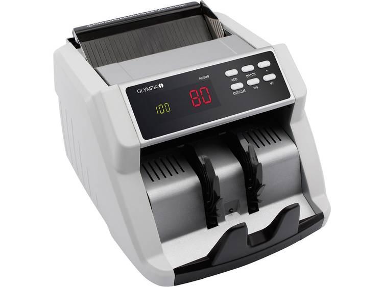 Olympia Geldtelmachine 947730540 Valsgelddetector, Biljetteller