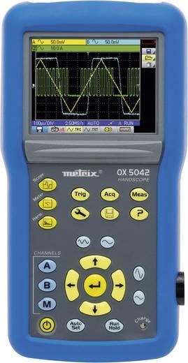 Metrix OX5022-CK Handoscilloscoop (scoopmeter) 20 MHz 2-kanaals 50 MSa/s 2.5 kpts 9 Bit Digitaal geheugen (DSO), Handapparaat, Multimeterfuncties