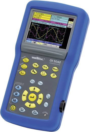 Metrix OX5042-C Handoscilloscoop (scoopmeter) 40 MHz 2-kanaals 50 MSa/s 2.5 kpts 9 Bit Digitaal geheugen (DSO), Handapp