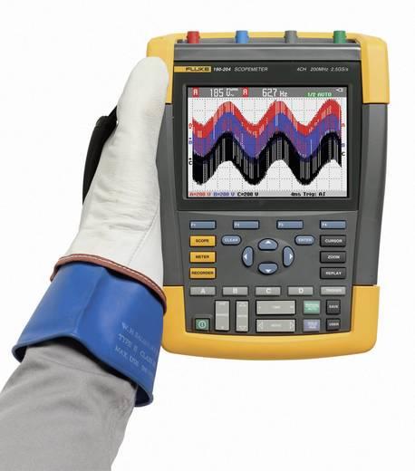 Fluke 190-104/EU/S Handoscilloscoop (scoopmeter) 100 MHz 4-kanaals 1.25 GSa/s 10 kpts 8 Bit Digitaal geheugen (DSO), Co