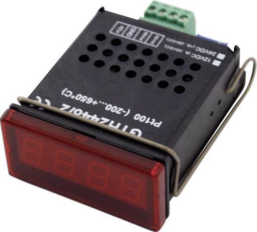 Greisinger GTH 2448/4 Temperatuurmeter -200 tot +650 °C Sensortype Pt1000 Kalibratie: Zonder certificaat
