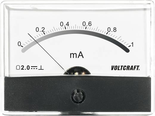 VOLTCRAFT AM-86X65/1 mA Inbouwmeter AM-86X65/1 mA/DC 1 mA Draaispoel