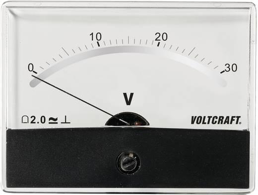 VOLTCRAFT AM-86X65/30V/DC Inbouwmeter AM-86X65/30 V/DC 30 V