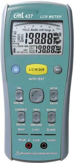 CMT 437 LCR-meter Digitaal Kalibratie: Zonder certificaat CAT I Weergave (counts): 20000