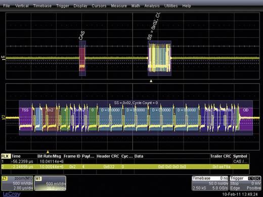 LeCroy WSXS-CAN-BUS TD WSXS-CANBUS TD WSXS-CAN-BUS TD trigger en decoder-uitbreiding Geschikt voor LeCroy oscilloscopen