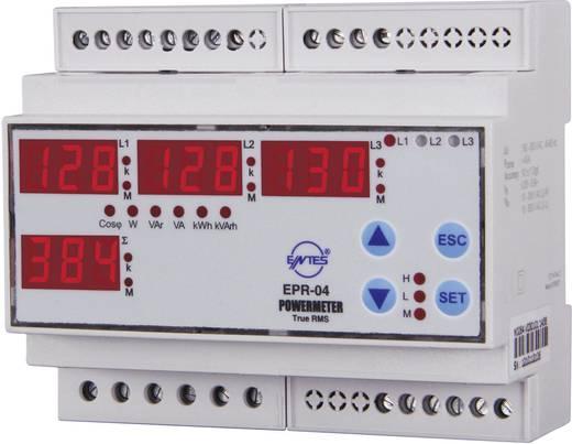 EPR-04-DIN 3-fasen AC vermogens- en energiemeter voor DIN-rail