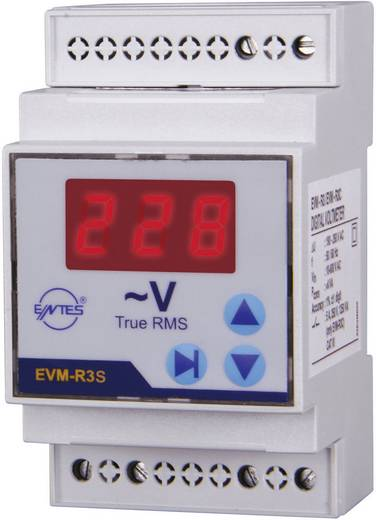 EVM-R3S 3-fasenvoltmeter inbouwinstrument