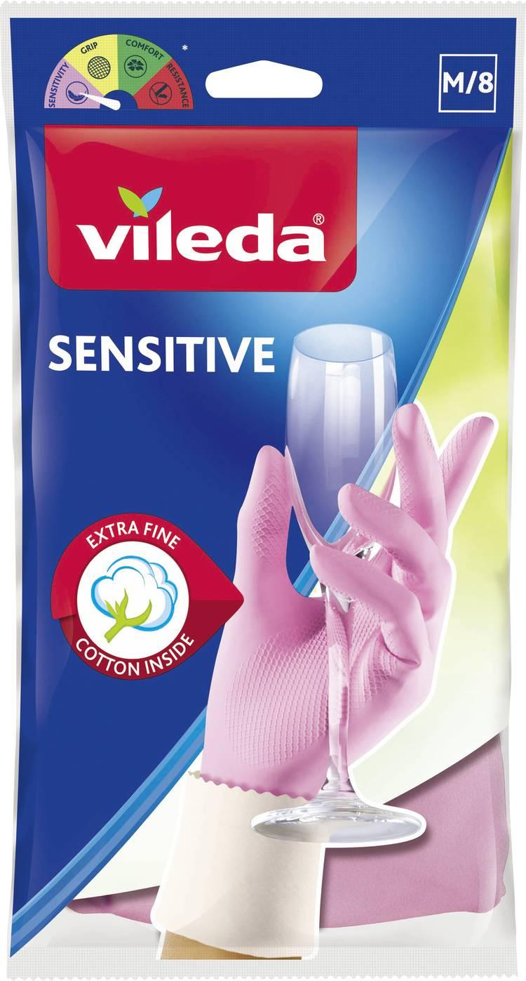 Rubberen handschoenen The Fine   Sensitive M 1 paar 1500457