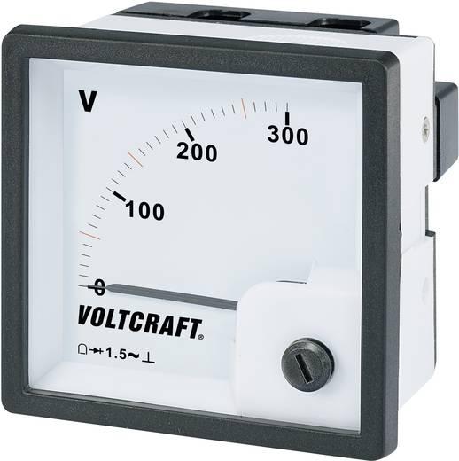 VOLTCRAFT AM-72x72/300V Analoge inbouwmeter AM-72x72/300 V