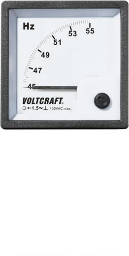 VOLTCRAFT AM-72X72/50HZ Analoog inbouwmeetinstrument AM-72x72/50 Hz