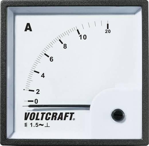 VOLTCRAFT AM-72X72/10A Analoog inbouwmeetinstrument AM-72x72/10 A