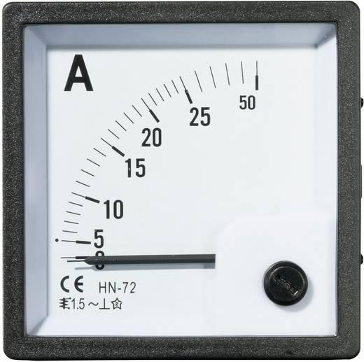 VOLTCRAFT AM-72X72/25A Analoog inbouwmeetinstrument AM-72x72/25 A 25 A Weekijzer
